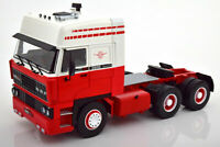 DAF 3600 Spacecab 1986 weiß/rot ROAD KINGS 180093 LKW Sattelzugmaschine 1:18