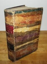 ANTIQUE 1837 HUNTER'S SACRED BIOGRAPHY COMPLETE IN ONE VOLUME THE PATRIARCHS