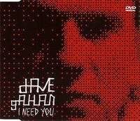 Dave Gahan DVD Single I Need You - Europe (M/M)
