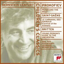 Leonard Bernstein - Peter & the Wolf / Carnival of the Animals [New CD]