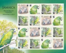 JAMAICA 2006 BLACK-BILLED AMAZON SG 1121/1124 MNH