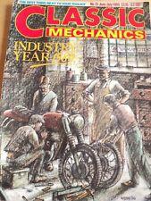 CLASSIC MECHANICS MAGAZINE JUN 1986 NORTON TRIUMPH BSA NORVIN GASKETLESS HEAD