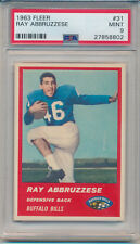 1963 Fleer Football Ray Abbruzzese (Rookie Card) (#31) PSA9 PSA