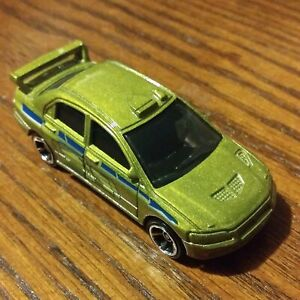 Lancer Evolution (Green) - Fast & Furious - Hot Wheels Basic Loose (2021)