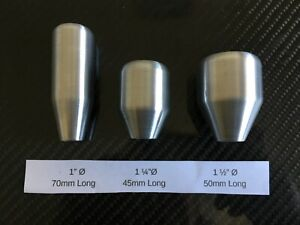 Aluminium Gear Knob Various sizes and thread options any thread available