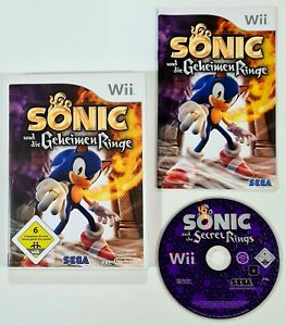 Nintendo Wii Spiel SONIC & DIE GEHEIMEN RINGE dt SEGA Action Adventure/Minispiel