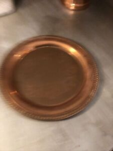 copper serving dish