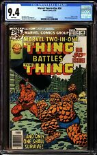 Marvel Two In One 50 CGC 9.4 White Thing vs Thing