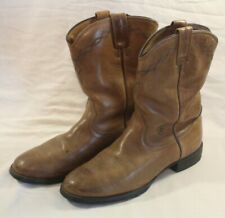 ARIAT Womens Brown Roper Boots Size 9.5 B Width