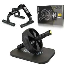 Power Guidance Ab Wheel & Push Up Bar, Exercise Home Gym Equipment for 6 Pack