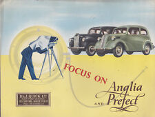 FORD FOCUS ON ANGLIA and Prefect