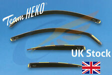 BMW 3 Series E90 4-doors Saloon 2005-2012 4pc Wind Deflectors HEKO Tinted