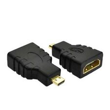 HDMI Female to Micro HDMI Male F/M Converter Adapter Connector HD TV Camera