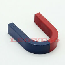 85mm x 80mm Traditional U-shaped Horseshoe Magnet Kids Toy Education #807