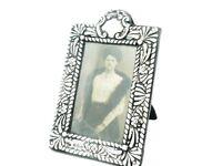 Antique Silver Photograph Frame, Sterling, PHOTO, Edwardian, Hallmarked 1902