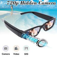720P HD Glasses Spy Camera Hidden Covert Eyewear Video Recorder DVR Camcorder