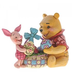 Spring Surprise Pooh & Piglet Figurine Jim Shore Enesco 6001283 Disney Easter