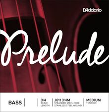 D'Addario PRELUDE BASS A String 3/4 Orchestral Medium Tension STUDENT