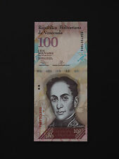 VENEZUELA BANKNOTES  - 100 BOLIVARES  -  MAGNIFICENT NOTES   * MINT UNC *