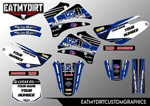 FOR 5 YAMAHA TTR125 01-07 CUSTOM GRAPHICS KIT STICKER MOTOCROSS DECAL TTR 125