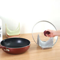 Pot Pan Lid Sink Rack Cover Stand Holder Rest Storage Kitchen  Organizer Tools^