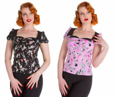 Waist Length Party Tops & Shirts for Women's 50s
