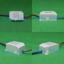 2x AC LED Driver +Shell 1x1W 3x1W 300mA Power Supply Lamp Spot Light Bulb 1W 3W