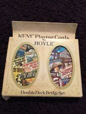 Hoyle Double Deck Bridge Playing Cards Set Movie Posters Complete