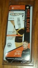 COPPER FIT PRO SERIES COMPRESSION KNEE SLEEVE - SIZE M/MEDIUM