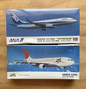 Hasegawa 2 model airplane kits