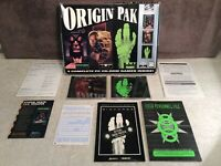 Origin Pak PC CD-ROM Games Incomplete/System Shock/Wing Commander III/Bioforge