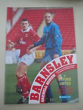 Barnsley V  Oxford  1992/3