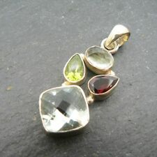 Peridot Sterling Silver Fine Necklaces & Pendants