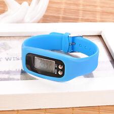 New 1PC LCD Pedometer Calorie Counter Run Step Walking Distance Watch Bracelet