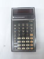Vintage 1977 Texas Instruments TI-55 Calculator Bubble Red LED  Not TESTED