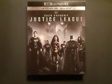 Zack Snyder'S Justice League 4K Ultra Hd+Blu Ray W/Slipcover Brand New Lot D4