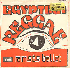 "RAMSES BALLET ‎– Egyptian Reggae (1977 VINYL SINGLE 7"" RARE BELGIUM PS)"