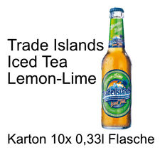 Trade Islands Iced Tea Lemon-Lime 10 Flaschen je 0,33l