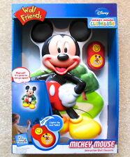 Wall Friends Disney MICKEY MOUSE Talking Room Light - New in Box / Unused