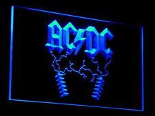 ACDC AC/DC Rock n Roll BarLED Neon Sign Man Cave C004-B