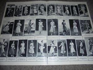 Photo article Queen Elizabeth II royal tour dresses 1954 ref AK