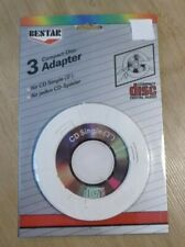 "CD  Adapter Ring (3 pieces) for  3"" INCH Mini CD Single Blanc New Sealed"