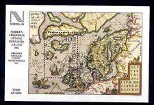 Island Block 6 ESST NORDIA 1984 / Landkarte