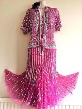 NWT BERKERTEX 20's  GATSBY BEADED FLAPPER DRESS & JACKET UK 18,,,,USA 14
