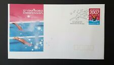 Australia Stamps first day cover 2007 Fina swimming championships