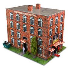 1/64 Slot Car HO Hotel Photo Real Scale Kit Model Diorama Scenery Track Layout
