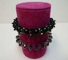 Bracelet jewellery display roll for elasticated bracelets Fuchsia Pink