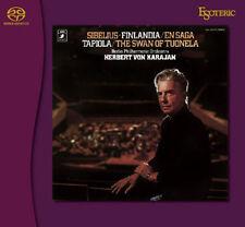 SACD ESOTERIC SIBELIUS Symphony No. 2 / Finlandia / Swan of Tuonela - KARAJAN
