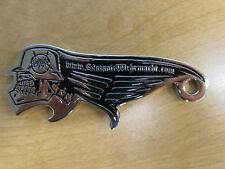Slayer Shaped Metal Bottle Opener Official Rare Very Solid Rare