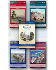 Liverpool Ordnance Survey Historical Maps Collection Set of Five Maps